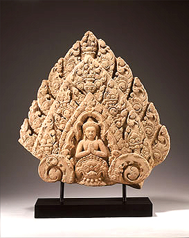 Finial with Vishnu as the Central Figure