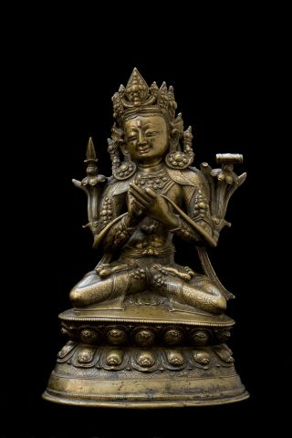 Figure of Manjushri Seated in Dhyanasana