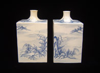 Pair Sake Bottles