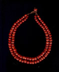 Double strand red coral