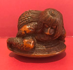 Netsuke of a kappa (sold)