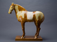 Sancai glazed horse